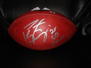 Peyton Manning Autographed NFL Game Football w/ 2 X SB Champ ! Fanatics