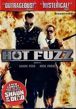 BRAND NEW COMEDY DVD // Hot Fuzz // Edgar Wright, Simon Pegg, Nick Frost