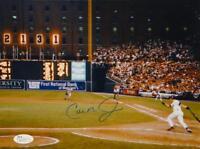 Cal Ripken Jr Autographed Baltimore Orioles 8x10 Scoreboard Photo- JSA Auth