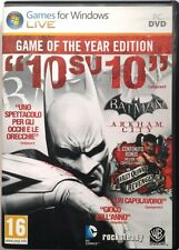 Gioco Pc Batman: Arkham City - ed. Game of the Year Usato