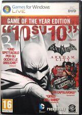 Gioco Pc Batman: Arkham City - ed- Game of the Year Usato