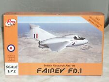 Pro Resin 1/72 Scale Resin Fairey FD.1, British Research Aircraft