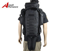 Tactical Military Police Airsoft Molle Rifle Gun Carry Case Backpack Bag Black
