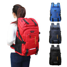 Men Women Lightweight 50L Backpack Hiking Camping Outdoor Travel Shoulder Bag