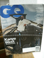 May 2020 GQ Gentlemen's Quarterly Magazine Kanye West Cover w/Damian Lewis story