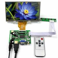 """6.5"""" 800*480 HD screen display LCD board AT065TN14 Control monitor HDMI VGA 2AV"""