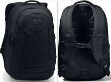 Under Armour UA Hudson Backpack Unisex Bag, Black - Gym School Travel Laptop