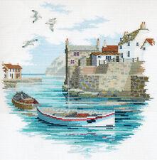 """Derwentwater: Secluded Port Cross Stitching 29.5cm x 30cm (11.6"""" x 11.8"""")"""