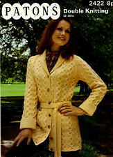 Patons DK knitting pattern, Women Jacket