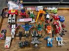 Vintage Hasbro G1 & G2 Transformers Huge Loose Figure Lot!!! Fliptrons 1980's For Sale