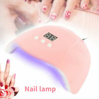54W 18LEDs UV Nail Lamp Smart Sensing Gel Nails Polish Dryer Manicure Machine US