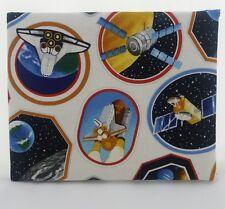 Disabled Blue badge holder wallet cover SPACE fabric Hologram safe gift