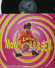 "MONIE LOVE ~ Born 2 Breed ~ 12"" Single PS"