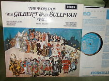 GILBERT & SULLIVAN: The World of (opera extracts) vol.3 / Decca stereo UK exc