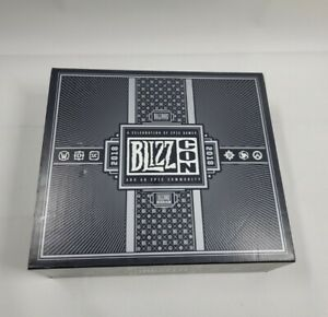 Blizzcon Exclusive 2018 UNOPENED Goody Bag/Box Set Blizzard Rare Collectible New