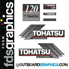 TOHATSU 120hp automixing hors-bord Moteur Autocollants/sticker kit