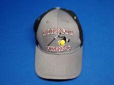 BORN FOR FISHING Outdoor Sports Baseball Cap Fisherman's Hat