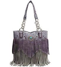 Western Fringe Tote Women Handbag Concealed Carry Purse Country Shoulder Bag