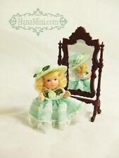 """Miniature 1:12 or 1:24 Porcelain Dolls 2 1/2"""" Tall - L1"""