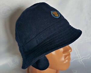 VINTAGE AUTHENTIC MELCHERS  WOOL BLUE MEN'S BUCKET HAT SIZE:US 7 ;EU 56