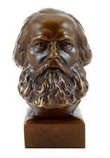 Bronze - Kopf - Karl Marx Büste - Gladenbeck signiert