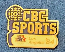 vintage 1984 Canadian Broadcasting Corporation CBC Olympic Pin Los Angeles Games