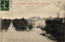 CPA  Bourges - Ecole d'Artillerie - Boulevard Lahitolle  (634288)