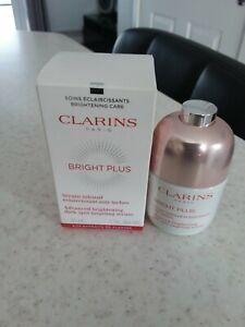 Clarins Bright Plus Serum dark spot targeting serum new boxed 30ml