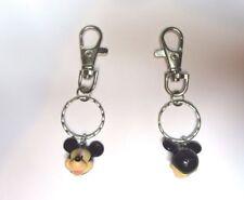 NEW Official 3D Walt Disney World Mickey Mouse Pendant Keyring Handbag Bag Charm