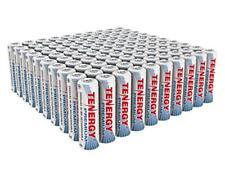 100PCS Tenergy Premium AA 2500mAh High Capacity NiMH Rechargeable Batteries Cell