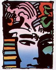 "Max, Peter   ""Aztec Man""    Print   MAKE OFFER"
