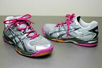 Women's ASICS GEL-ROCKET 6 Athletic Volleyball Court Shoes B257N SIZE 7.5