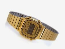 Genuine Casio LA670WGA-9D Women's Gold Tone Digital Watch Vintage Classic Retro