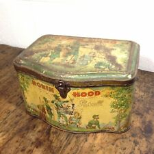 Rare Pascall ROBIN HOOD Tin