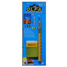 OLFA Standard art knife AK-1 , Included 25 Blades