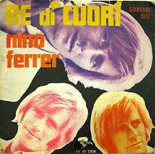 """NINO FERRER """"RE DI CUORI""""  45' Italy"""
