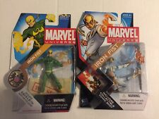 hasbro marvel universe 3.75 action figures Iron Fist Lot Of 2 Black Dragon