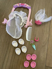 Vintage My Little Pony Wedding Accessories Skirt Veil Shoes MORE From 2000s