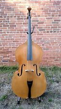 New Palatino VB-012 3/4 Violin-Corner Upright Bass Natural With Bag