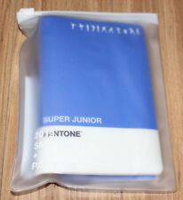SUPER JUNIOR + PANTONE GOODS SM OFFICIAL GOODS PASSPORT WALLET + PHOTOCARD NEW
