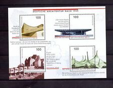 GERMANY 1997 Architecture min sheet MUH