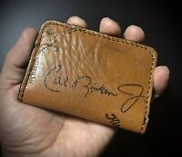Rawlings Cal Ripken Jr Minimalist 2 Pocket Leather Baseball Glove Wallet