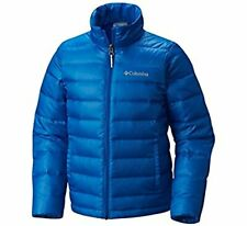 Columbia Youth Airspace Down Jacket, S / 8_ears, Super Blue - NWT!