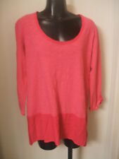 Fresh Produce Windfall Top Nomad Pink Large NWT Hi Low Hem Pullover 90300 New L