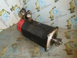FANUC A06B-0314-B003#7000 ? 5S 3 PH 2000 RPM 5.9 NM 5.8 A 126 V AC SERVO MOTOR