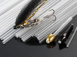 Fly Tying Tubes Rigid Tubing Tube Flies Tying Material , 4 Sizes ; C601A