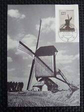 NETHERLANDS MK 1963 WINDMILL MAXIMUMKARTE CARTE MAXIMUM CARD MC CM c3695