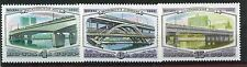 RUSIA/URSS  RUSSIA/USSR 1980 MNH SC.4892/4894  Bridges