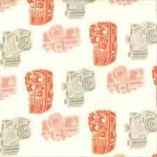 Julie Comstock Cosmo Cricket 2wenty Thr3e Kodachrome Fabric Parchment 37054-11