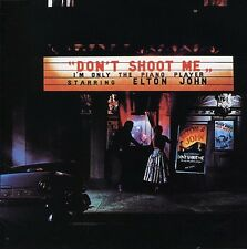 Don't Shoot Me I'm Only The Piano Player - Elton John (1996, CD NUOVO)